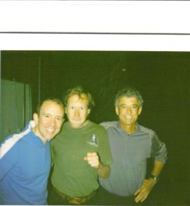 David with Frank Shorter and Boston Billy