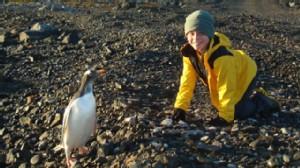Nikolas and penguin