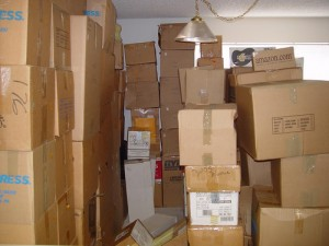 packing boxes