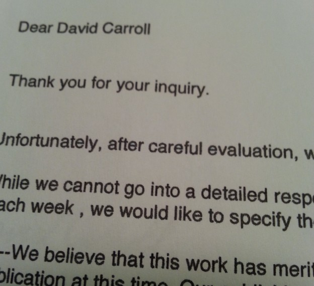 rejection letter 3