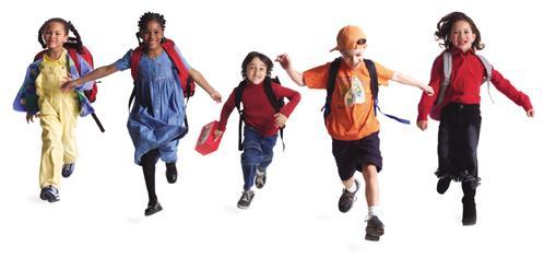 School-Kids-Running
