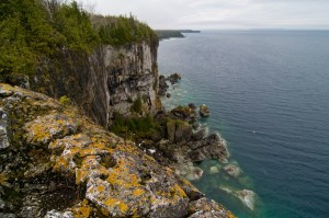 Bruce trail Cliffs
