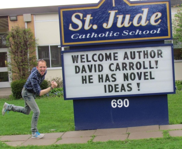 dave at St. Jude School